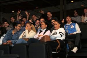 """Alguns dels participants a la tercera edició del programa """"Joves per l'ocupació"""" durant la presentació // Ajuntament de Sant Boi"""